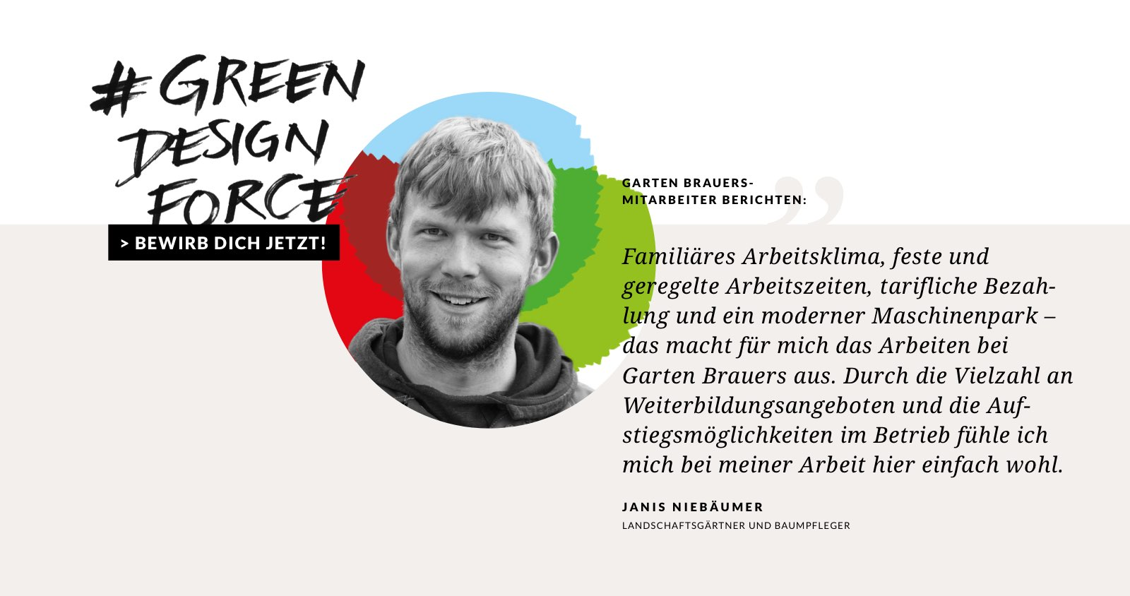 #GreenDesignForce