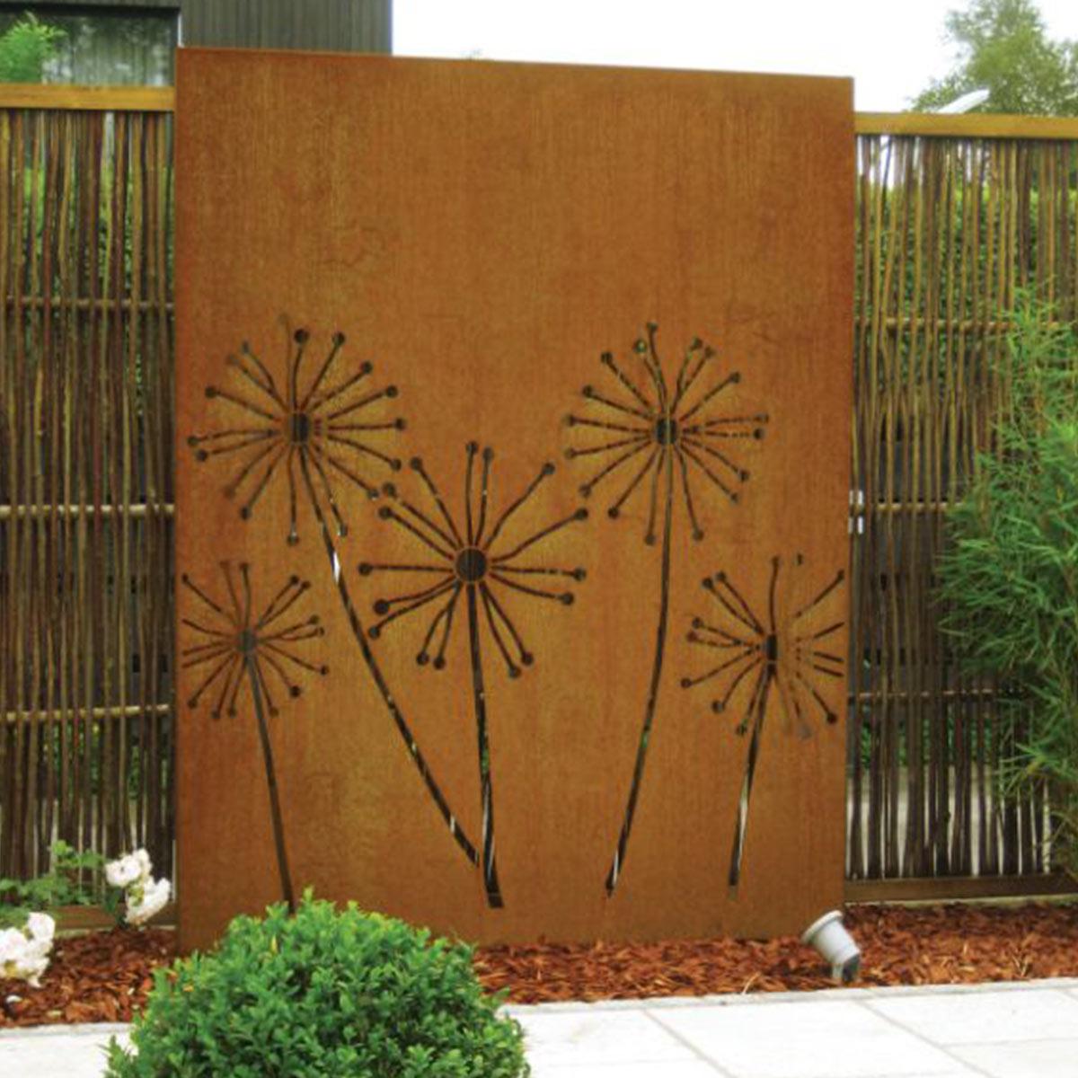 Ideen Ihren Gartenverschönern Sichtschutz von Mecondo