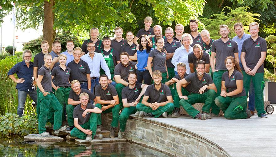 Das gesamte Team von Garten Brauers