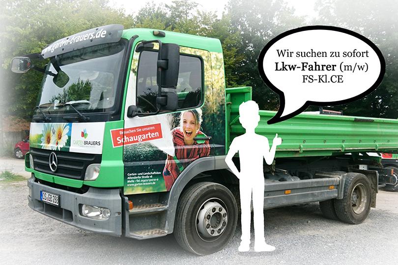 LKW Fahrer gesucht