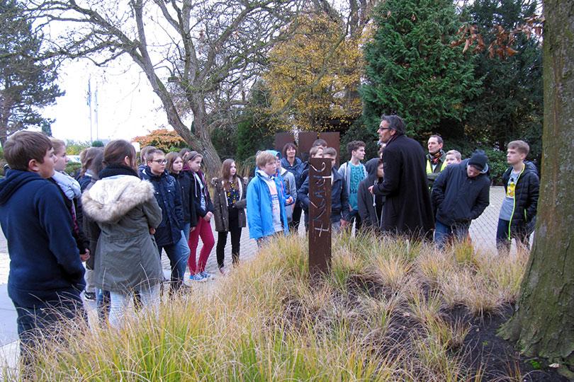 Schule trifft Landschaftsgärtner